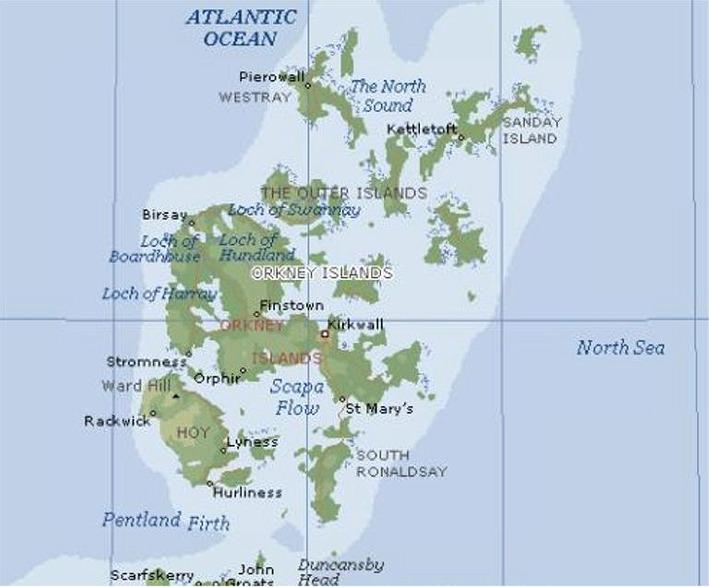 Resa I Vikingabygder Shetland Orkney Skotska Hoglandet Och